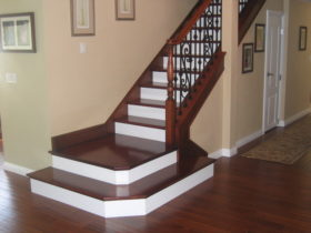 sample interior stairs